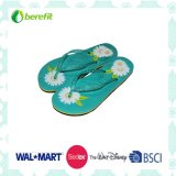 Slippers delle donne con Bright Printing, EVA Sole ed il PVC Straps