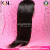 pelucas llenas delanteras rectas sedosas brasileñas del pelo humano del cordón de la densidad del 130% el 150% el 180% el 200%