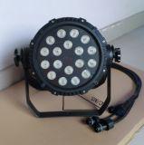 Indicatore luminoso impermeabile esterno poco costoso della fase di IP65 18PCS RGBW LED