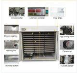 Польностью автоматический инкубатор яичка цыпленка для насиживая яичек (YZITE-19)