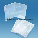 Weißer Kasten des PlastikDVD