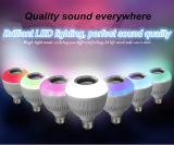 L'effet allume le haut-parleur futé de la lumière de Noël LED Bluetooth