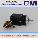 Motor sin cepillo BLDC de NEMA17 30W/1:4 de la relación de transformación de la caja de engranajes
