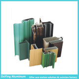 Perfil de aluminio del color de la electroforesis de la protuberancia de la fábrica de aluminio