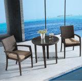 كلّ - طقس برهان خارجيّة حديقة أثاث لازم يتعشّى مجموعة مع قابل للتراكم كرسي تثبيت [&كد] طاولة ([يت362-1&تد581])