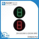 Contre- module de chiffres rouges et led verte de circulation