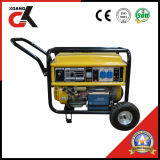 5 kW Generador de gasolina (Set) con la manija y 8' Rueda