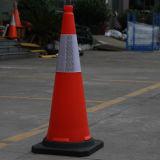 De rubber PE van de EU van de Basis Standaard Blazende Kegel van de Verkeersveiligheid