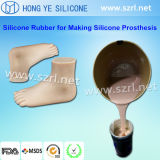 Suture Practise를 위한 연약한 Skin Color Life Casting Silicone Rubber