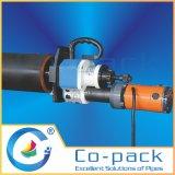 携帯用炭素鋼の斜角が付く管端機械