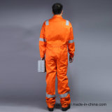 Пламя - retardant Coverall безопасности 88%Cotton 12%Nylon с отражательной лентой (BLY1014)