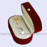 Ювелирные изделия Wedding&#160 бархата фабрики Кита просто овальные; Коробка для двойных кец