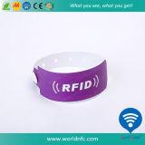 13.56 MHZ Passive Disposable RFID Paper Wristband für Festival