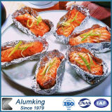 0.009mm Thickness Soft Aluminum Foil per Food Packing