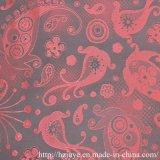 Tissu de garniture de jacquard de polyester pour la garniture de vêtement (JVP6350A)