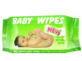 Neugeborenes Baby Soft Cleaning Wipes Spunlace Alcoho Free Wet Wipes 80PCS