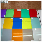 Multi-Tipo coloreó/Splashback/laminado Tempered teñido Worktops