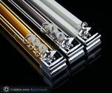 Het Heldere Gouden Spoor van uitstekende kwaliteit van het Venster van het Aluminium Blinde Hoofd