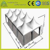 Tienda blanca al aire libre del PVC de la aleación de aluminio de la exposición del funcionamiento
