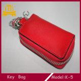 Handmade мешок бумажника ключа кожи дела закрытия застежка-молнии