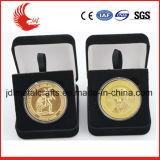 Новые монетки металла эмали сувенира металла прибытия с упаковкой бархата