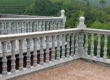 Grigio di pietra naturale/bianco all'ingrosso/colore giallo/rosso/nero/Brown/verde/asta della ringhiera di marmo blu del granito dei materiali da costruzione
