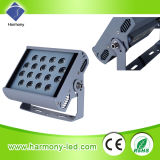 Impermeável RGB 24W Square LED Wall Washer Lighting