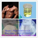 Esteroides anabólicos CAS 434-05-9 Primobolan para el acetato de Methenolone del crecimiento del músculo