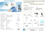 LED Examination Lamp Ks-Q7 White Mobile Medical Light für Gp, E.N.T. Ophthalmology, Gynaecology, Theatre, Minor Operation Use