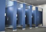 Partition phénolique publique imperméable à l'eau solide de toilette de compartiment