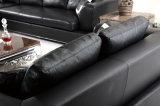 현대 상업적인 부분적인 거실 가죽 소파 (HC3010)