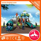Campo de jogos ao ar livre do equipamento do campo de jogos das crianças ao ar livre