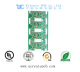 Concurrerende PCB van de Prijs voor de Bank van de Macht met het Groene Masker van het Soldeersel