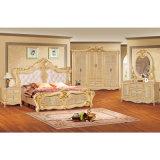 Mobilia della camera da letto con la base ed il guardaroba antichi (W802)