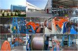 """5/16本の"""" BS 183が付いている7/2.64mm ASTMのa-475によって電流を通される鋼鉄ガイワイヤー7/4.0mm"""