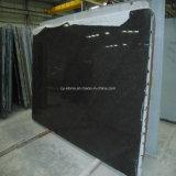 Сляб перлы черноты камня гранита ввоза Индии для плиток/Countertops