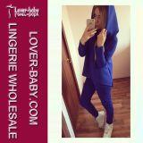 Vêtements sport de Hoody de pulls molletonnés de fille (L27967-4)