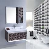Vanità fissata al muro della stanza da bagno dell'acciaio inossidabile di alta qualità