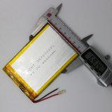 de Batterij van het Polymeer van het 3570100pl4000mAh 3.7 V Lithium
