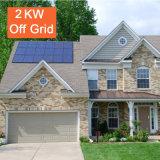 Système solaire à la maison outre du système d'alimentation solaire de réseau 2kw