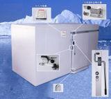 찬 룸 또는 냉장고 룸 냉각장치 룸에 있는 도보