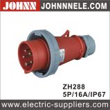 Neuer Typ Zh248 IP44 16A Male Industrial Plug