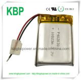 1000mAh 3.7V Lithium Li-Polymer Battery para Bluetooth Headset