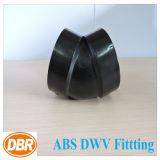 ABS Dwv размера 1.5 дюймов приспосабливая 1/8 коротких загибов