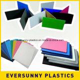 Feuilles ondulées colorées de plastique de 4X8 Coroplast
