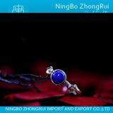 925 de de echte Zilveren Tegenhanger van de Juwelen van Lapis lazuli en Pruim Serie 2 van de Ring