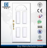 Porte extérieure en verre de Fanlite de fibre de verre de luxe