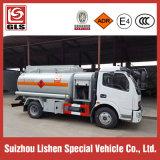 4X2 Dongfeng 6000L riforniscono di carburante il camion di rifornimento di carburante del camion di serbatoio