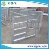 Sicurezza stradale di alluminio della rete fissa delle barriere di controllo di folla della fase del metallo delle barriere di controllo di folla