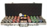 Caso fichas, fichas de póker Set